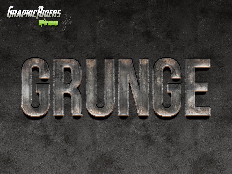 metalic-grunge-style-free