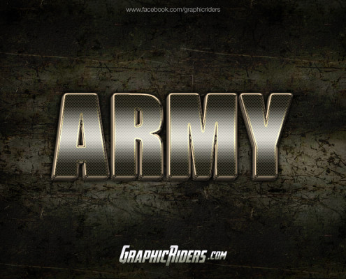 metal style army