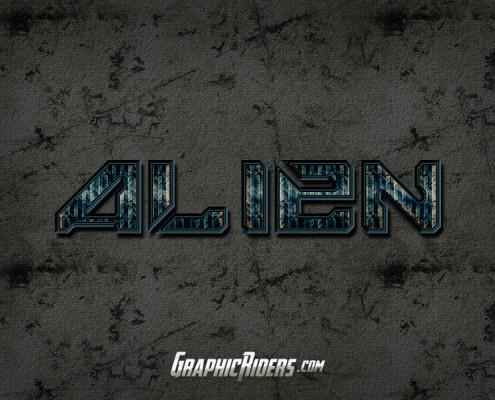 scifi style alien