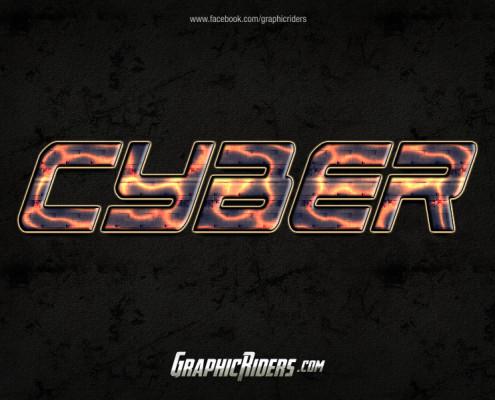 scifi style cyber