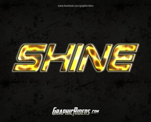 scifi style shine
