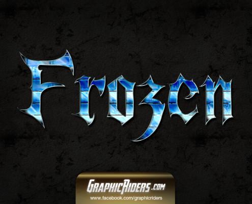 fantasy style frozen