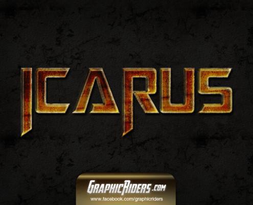 scifi style icarus