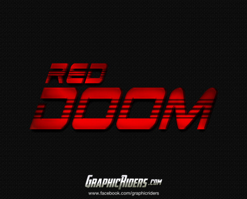free scifi style red doom