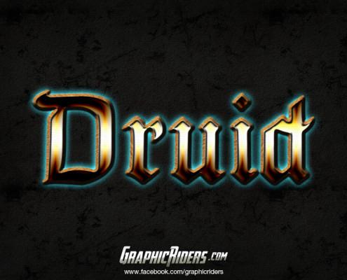 free fantasy style druid