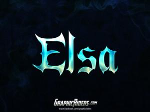 free fantasy style elsa