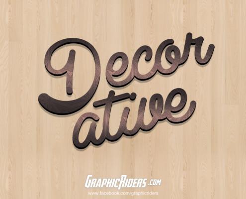 free retro style decorative