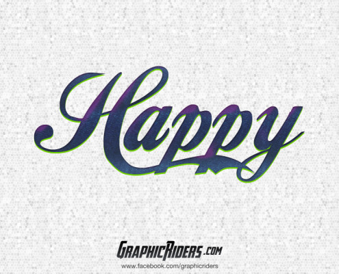 free retro style happy