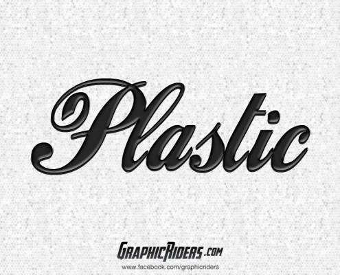 free retro style plastic