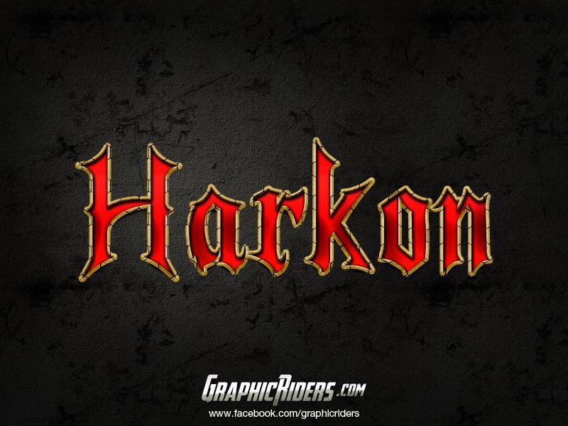 free fantasy style harkon