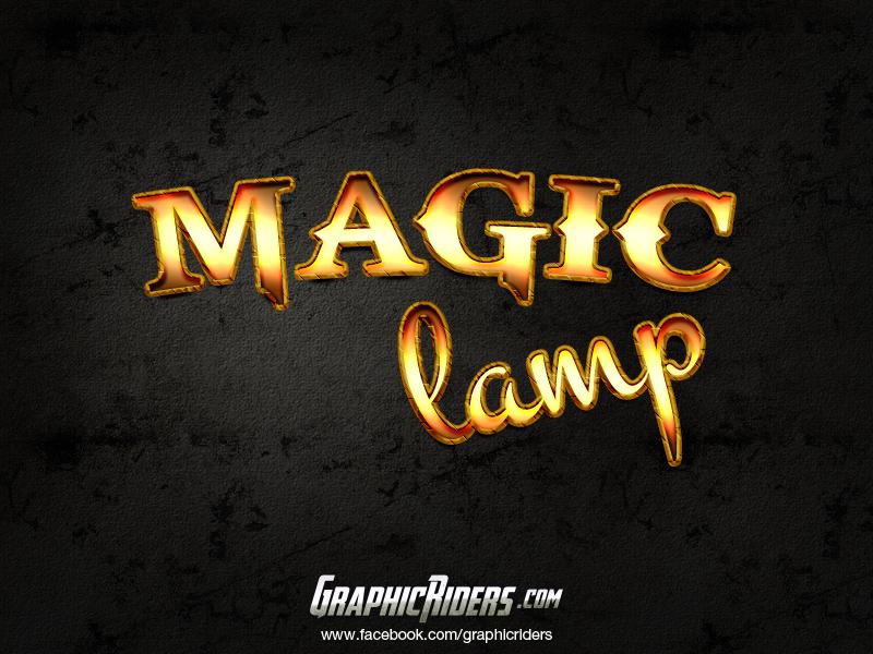free fantasy style magic lamp