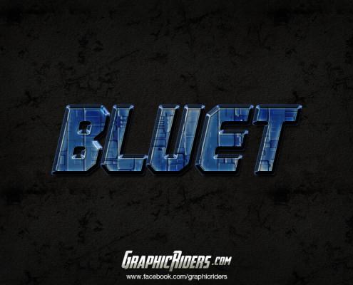 free scifi style bluet