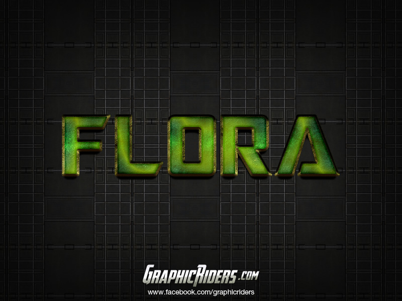 free scifi style Flora