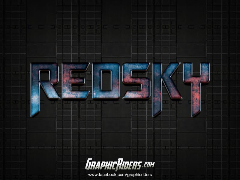 free scifi style redsky