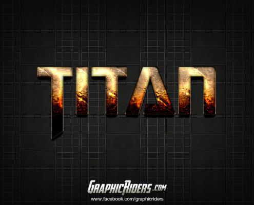 free scifi style titan