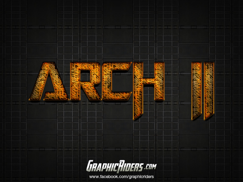 free scifi style arch 2