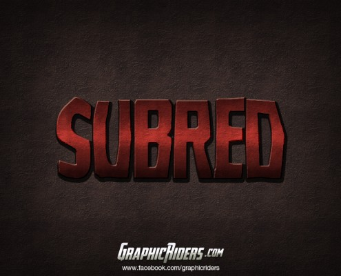 free text effect subred