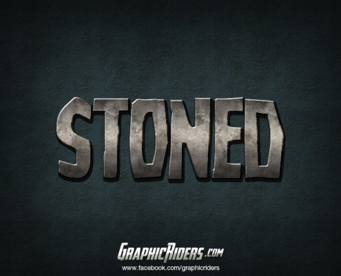 free photoshop layer style stoned