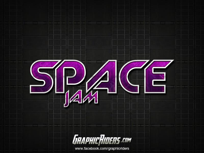 spacejam-texteffect