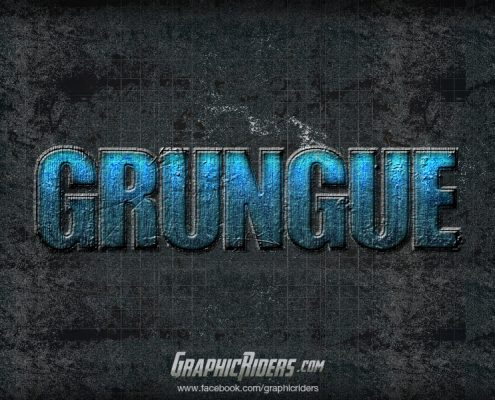 action style grungue